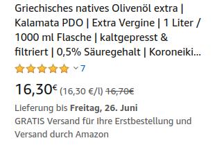 Screenshot von Amazon.de: Grundpreisangabe korrekt dargestellt.